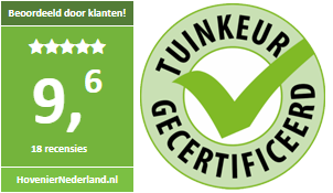 Laurens hoveniers is tuinkeur gecertificeerd